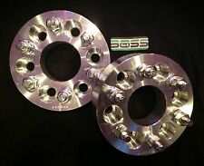 "2 Pcs 6 Lug 6x4.5 Aluminum Wheel Spacers Adapters 1.5"" Sold in Pairs fits Nissan"