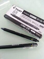 PILOT FRIXON Retractable Erasable Ballpen 0.5mm  BLACK  x 5 pcs extra fine pt