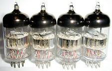 Russian 6F12P HF Triode-Penthode Tubes 4pcs, all - 1989 NEW NOS, TESTED