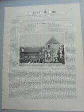 1900 11 Rheda Burgkapelle Markbreit Frickenhausen Segnitz
