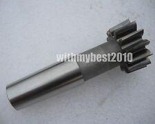 Taper Shank HSS Gear Shaper Cutter M2.5 Dia 25mm PA 30 Degree Module 2.5 Z-10