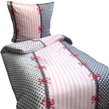 Gepunktete Bettwäschegarnituren im Romantik-Stil mit Reißverschluss