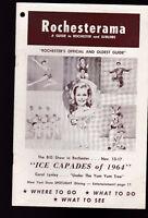 Rochesterama NY November 1964 Tourist Guide Ice Capades of 1964 Carol Lynley