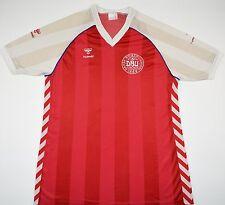 1984-1986 DENMARK HUMMEL HOME FOOTBALL SHIRT (SIZE XL)