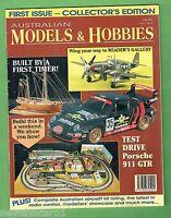 #T50.  ISSUE #1 of AUSTRALIAN MODELS & HOBBIES MAGAZINE