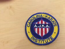 karate Vintage,patch,carolina institute nos, A.J.K.A.1960