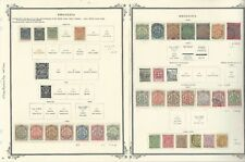 Rhodesia Collection 1890 to 1917 on 5 Scott Specialty Pages