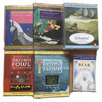 CASSETTE Audiobooks Water Babies, Artemis Fowl Robbie Coltrane Puffin Classics