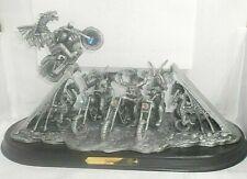 More details for myth & magic - daredevil - tudor mint - huge motor biking figure only 500 made