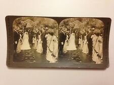 PHOTO 1903 PERFEC STEREOGRAPH H.C WHITE CO // THE BLESSING