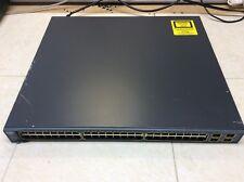 Cisco Catalyst 3560G series. WS-C3560G-48TS-S.