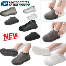 Silicone Overshoes Rain Waterproof Shoe Cover Boot Cover Foldable Anti-Slip USA