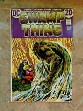 Swamp Thing #1 (1972 DC)Very  Berni Wrightson NICE BOOK!!!