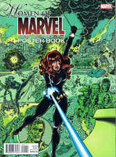 WOMEN OF MARVEL CELEBRATING 7 DECADES POSTER BOOK MARVEL COMICS BUY 1 GET 1 FREE