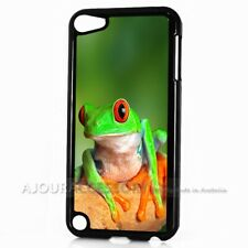 ( For iPod Touch 6 ) Back Case Cover AJ10713 Frog