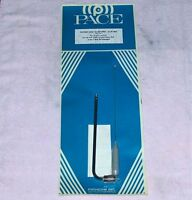 PACE DELUXE - VINTAGE cb ANTENNA set indoor portable base station radio receiver