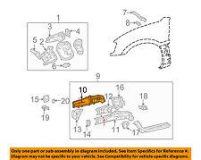 TOYOTA OEM 01-03 RAV4 Fender-Outer Rail Right 5711542900