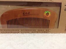 Anti-static peach wood comb NanJieCun DH3-12