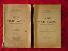 Jules Ventre, Traité de vinification pratique et rationnelle (2 tomes)