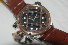 INVICTA SWISS MADE RUSSIAN DIVER NAUTILUS 16209 ETA 6497 MECHANICAL 52MM CASE