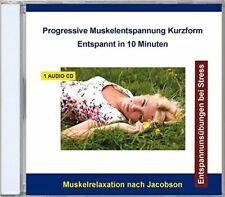 Progressive Muskelentspannung nach Jacobson CD NEU & OVP