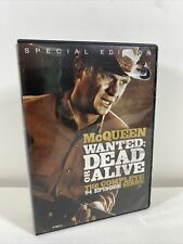 McQueen Wanted: Dead or Alive - Complete Series DVD Set 2013 12 Disc 94 Episodes