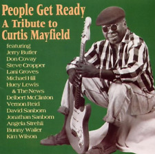 """""""PEOPLE GET READY: A Tribute To Curtis Mayfield"""" (CD 1993) 11-Tracks *EXCELLENT*"""