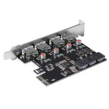 Desktop PCI Express PCI-E to USB 3.0 Expansion Card Adapter With 4 Ports AC538