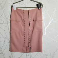 Promesa Women's Pastel Pink Pencil Skirt | Size L