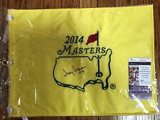 Tommy Aaron- Signed 2014 MASTERS FLAG- JSA- Augusta Official Flag- Auto- Signed