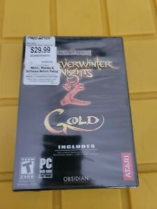 Neverwinter Nights 2 Gold Forgotten Realms PC game New Sealed