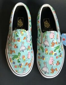 Vans Classic Slip On Toy Story Andy's Toys / Btin NEW KIDS SIZES