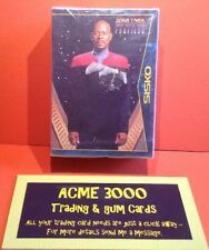 Skybox 1997 - Star Trek Deep Space Nine Profiles Complete Set Of 82 Cards