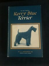 Kerry Blue Terrier by E.S. Montgomery. M.D. - Hardcover 1969