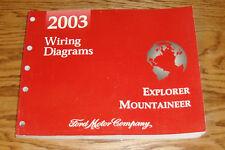 2003 Ford Explorer Mercury Mountaineer Wiring Diagrams Manual 03