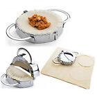 1Pcs Cutter Pie Stainless Steel Dough Dumpling Ravioli Maker Pastry Tool Mould