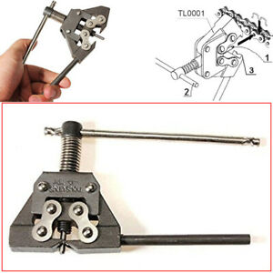 Universal ATV Motorcycle Scooter Chain Splitter Cutter Breaker Pin Removal Tool
