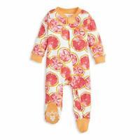 Burt's Bees Baby - Unisex Baby Sleep & Play, Organic, Grapefruit, Size 0.0 AnqD