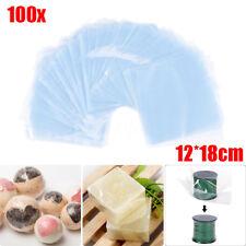 100 x Transparent Shrink Wrap Film Bag Heat Seal Gift Packing 12 x 18cm PVC