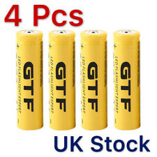 4pcs 3.7v 18650 9800mah Li-ion Rechargeable Battery for LED Flashlight Torch Hot