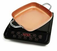 NIB Copper Chef Induction Cooktop with Frying Pan - Brand New - REBOXED