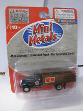 Classic Metal Works Mini Metals 41/46 Chevrolet Stake Bed Truck Four Square 1:87