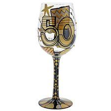 Lolita 6000738 50th Birthday Wine Glass