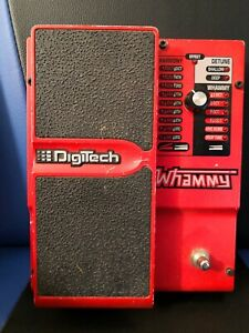Digitech WH-4 Whammy IV With AC Adapter Octave Pitch Shifter Low BIN Fast Ship