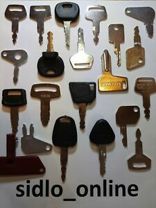 21 Key Digger/ Plant/ Excavator Key Set ** Fast And Free**