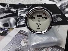 GENUINE ROVER MINI COOPER S SPORT MAGNOLIA IVORY OIL GAUGE DIAL RARE WORKS CLOCK