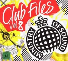 Club Files Vol. 8 (2CD+DVD) SEALED Moby Dirty South Cascada Scooter Booty Luv