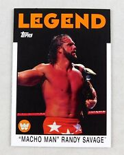 ee8383f2d60 Randy Savage WWE Wrestling Trading Card Topps Raw Smackdown HOF Macho Man   90