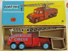 CORGI 1121 CHIPPERFIELD'S CIRCUS CRANE TRUCK & RARE NEAR MINT ALL ORIGINAL