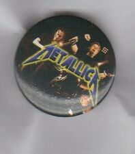 METALLICA  BUTTON BADGE - AMERICAN HEAVY METAL ROCK BAND Master Of Puppets 25mm
